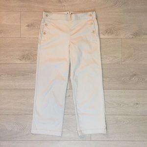 JCrew Sailor Cropped Pants